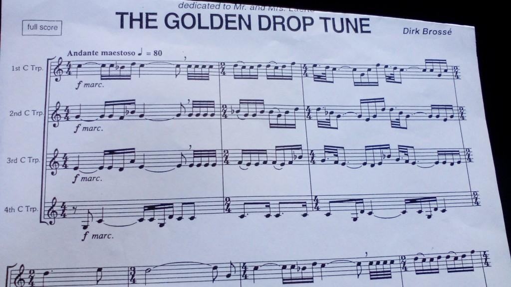 Golden Drop Tune