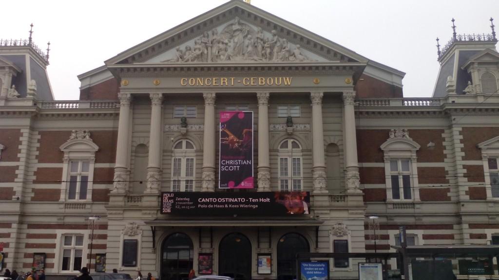 Concertgebouw facade 1 poster